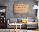 Christian Wall Art - We Will Serve The Lord