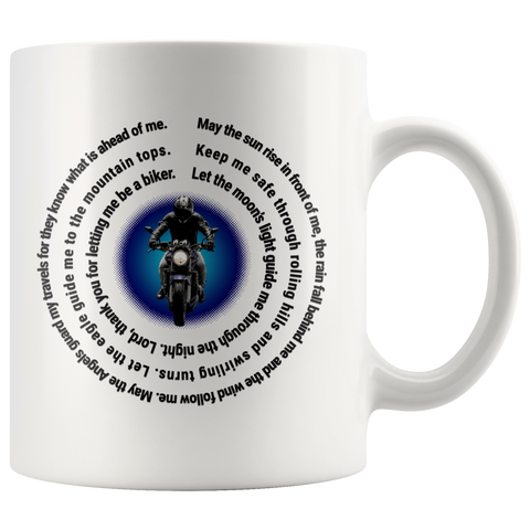 Biker Prayer Coffee Mug