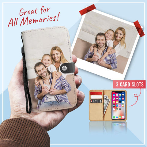 Personalized Photo Wallet Phone Case