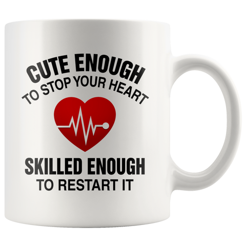 Cute Nurse Coffee Mug
