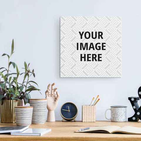 Personalized Photo Wall Art Canvas - Square
