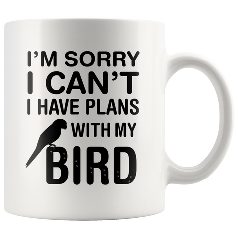 Plans With Bird Coffee Mug