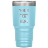 Personalized Laser Etched Tumbler - 30oz