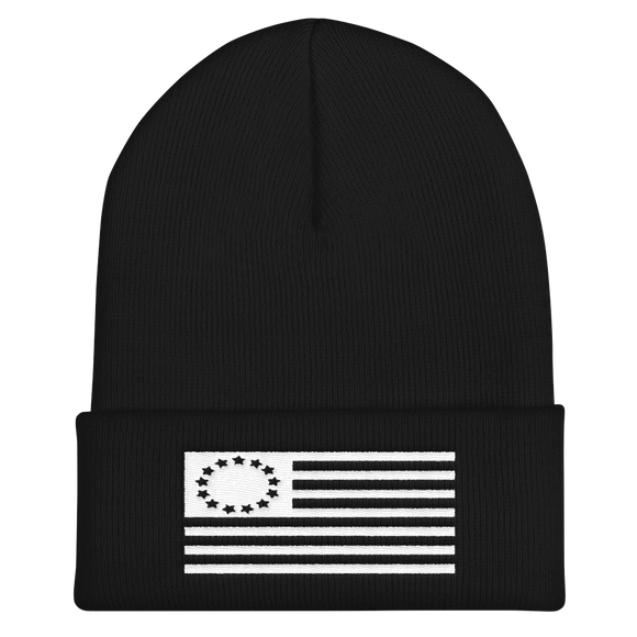 Betsy Ross Antique Flag Beanie