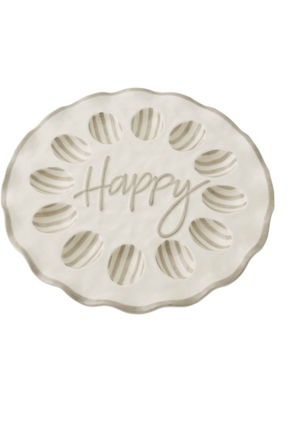 HAPPY RUFFLE EGG TRAY (IN STORE PICKUP ONLY)