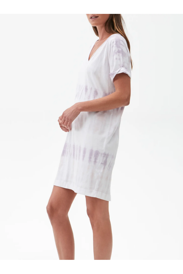 CARA V-NECK TEE DRESS