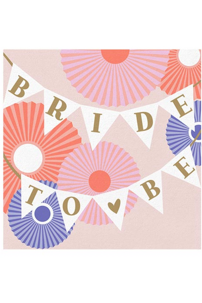 BRIDE TO BE NAPKINS (20 COUNT)