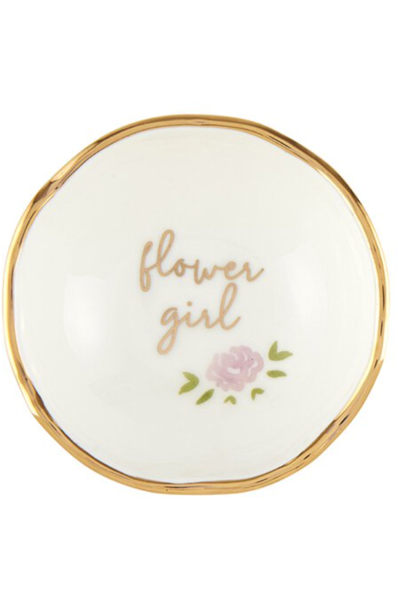 JEWELRY DISH - FLOWER GIRL