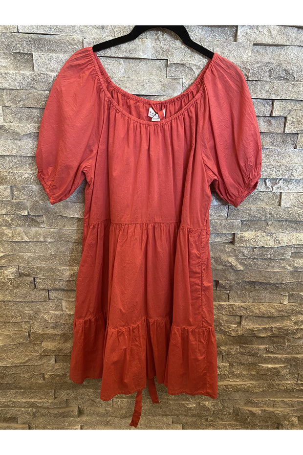 RENELLE RAGLAN SLEEVE DRESS