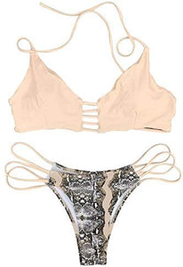 Women's Push Up Halter Bikini Set - Holjaz Chic Boutique