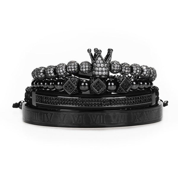 Handmade Crown Braiding Bracelet - Holjaz Chic Boutique