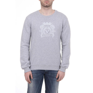 V 1969 ITALIA MENS SWEATER LIGHT GREY - Holjaz Chic Boutique