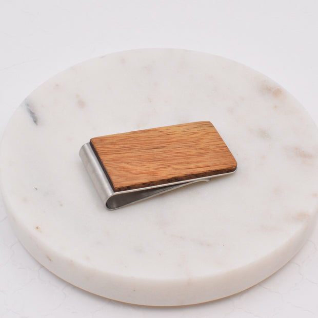 Canarywood Money Clip - Grace and Wood Co.