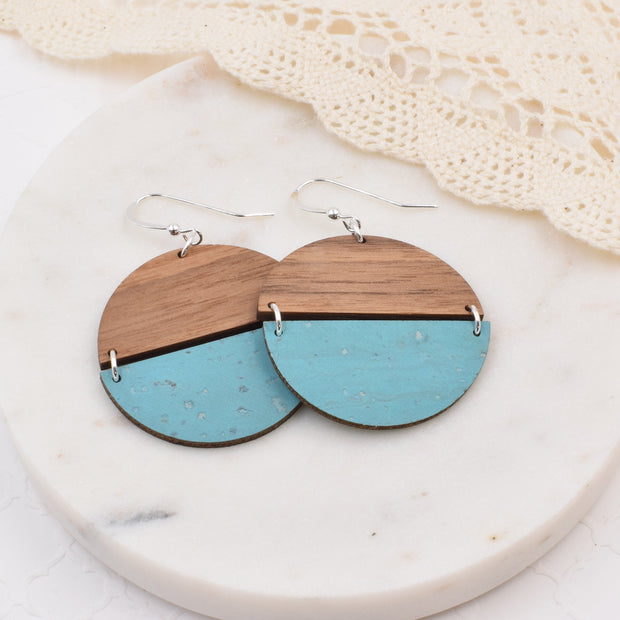 Ocean Blue Hinged Disc