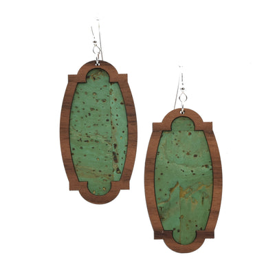 Cactus Green Wood + Cork Heirloom - Grace and Wood Co.