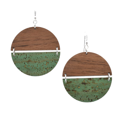Cactus Green Hinged Disc - Grace and Wood Co.