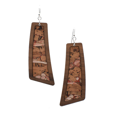 Valentine Bark Wood + Cork Flare - Grace and Wood Co.