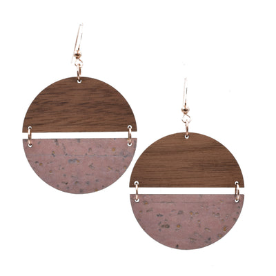 Blush Cork Hinged Disc - Grace and Wood Co.