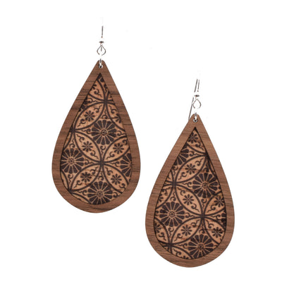 Medallion Wood + Cork Teardrop - Grace and Wood Co.