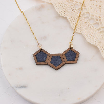 Wood + Meli 14k Gold Necklace - graceandwoodco