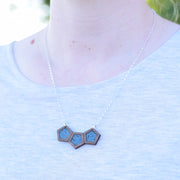 Wood + Meli Sterling Silver Necklace - graceandwoodco
