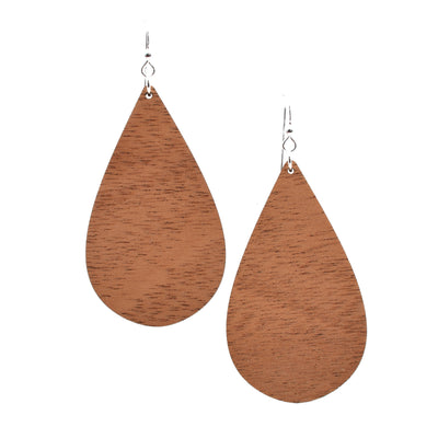 Mahogany Teardrop - Grace and Wood Co.