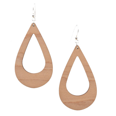 Hollow Maple Teardrop - Grace and Wood Co.