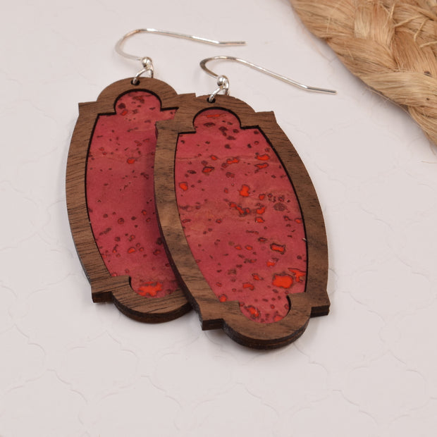 Pomegranate Wood + Cork Heirloom - graceandwoodco