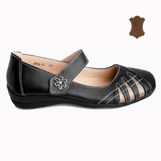 a23ed362151 Chaussures Femme Babies Ballerines Cuir Grande Taille 41 42 43 44 ...