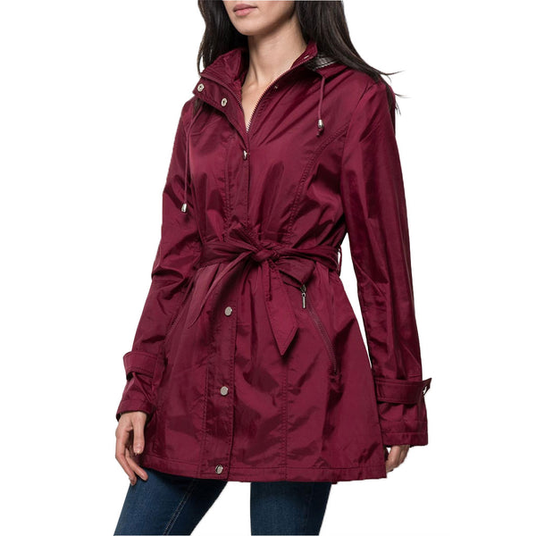 Imperméable Femme Capuche Amovible Trench