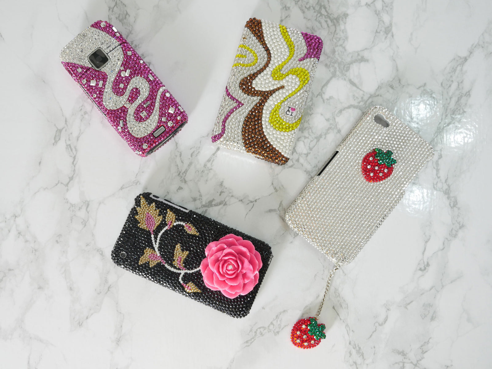 Samsung Galaxy S6 Swarovski Crystal Cases