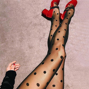 'Dotalicious' Ultra Sheer Tights