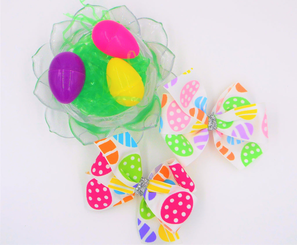 easter eggs easter basket easter bows missy moo designs, wholesale