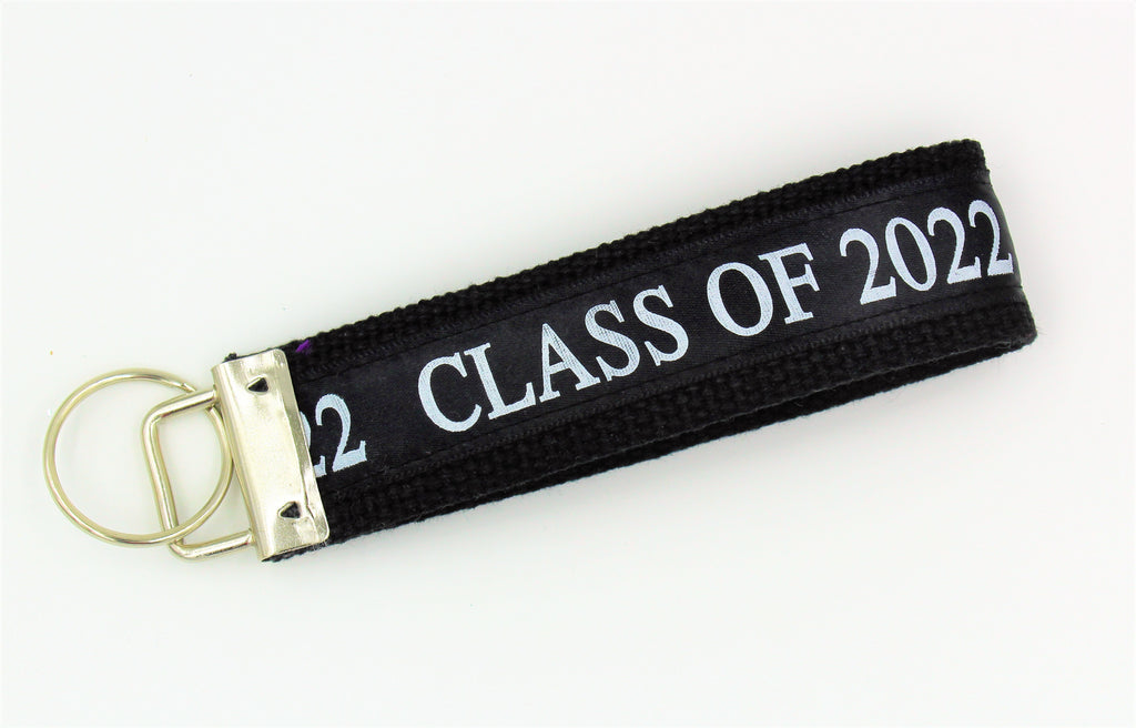 class of 2022, graduation gift, key chain, missy moo designs