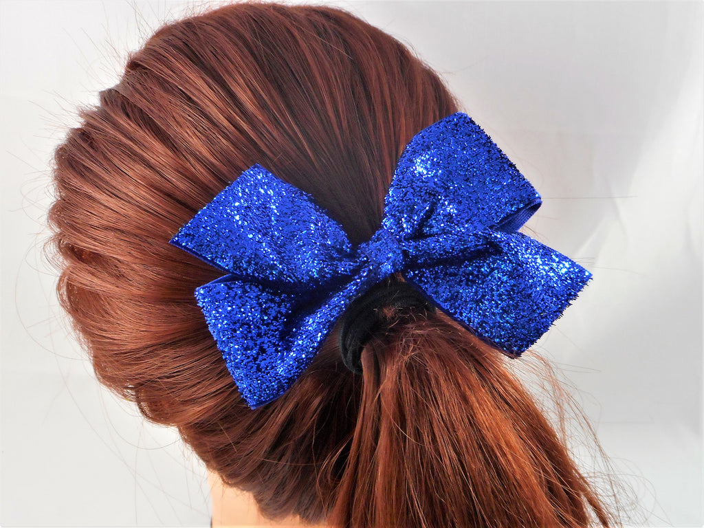 "sparkle glitter 4"" hair bow missy moo designs"