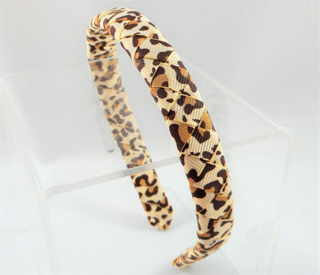 leopard print, leopard print headband, leopard headband, missy moo designs, wholesale accessories
