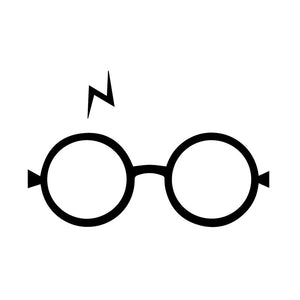 Harry Potter Glasses Vinyl Sticker Auto/Home - That New Trend