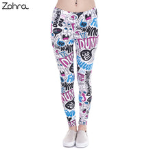 Zohra Brand New Fashion Women Leggings Dummy Doodle Printing Leggins Fitness Legging Sexy High Waist Woman Pants - That New Trend