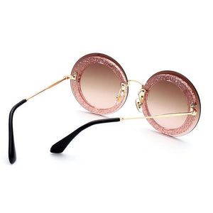 Rimless Round Vintage Sunglasses - That New Trend