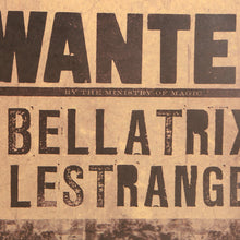 "Harry Potter Decorative Poster ""Bellatrix - Wanted"" - That New Trend"