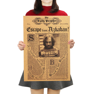 "Harry Potter Decorative Poster ""Escape - Sirius"" - That New Trend"