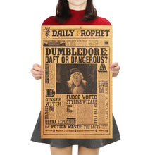 "Harry Potter Decorative Poster ""Dumbledore"" - That New Trend"