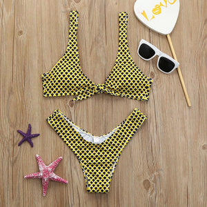 The Yellow Pokadot Bikini - That New Trend