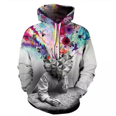 Trippy Collection - Thinker Hoodie