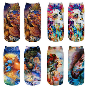 Trippy Collection - Graphic Socks