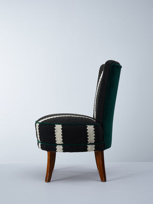 riverbed sniper chair by nomad design green velvet
