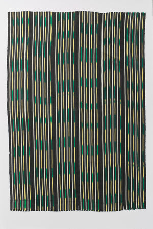 baulé ikat cloth ivory coast nomad design