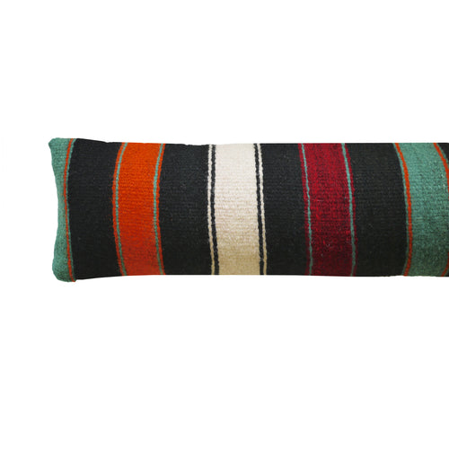 Emerald Stripe Draft Excluder