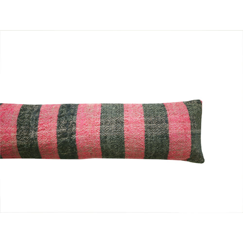 Hot Pink Stripe Draft Excluder