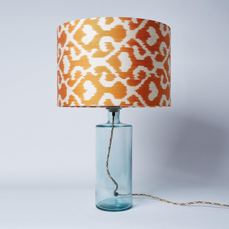 Orange Jess Drum Lampshade